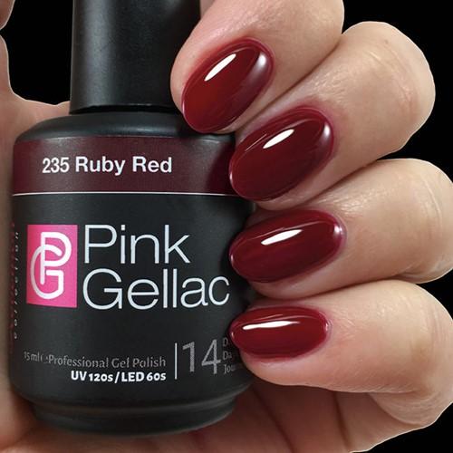 Pink Gellac #235 Ruby Red