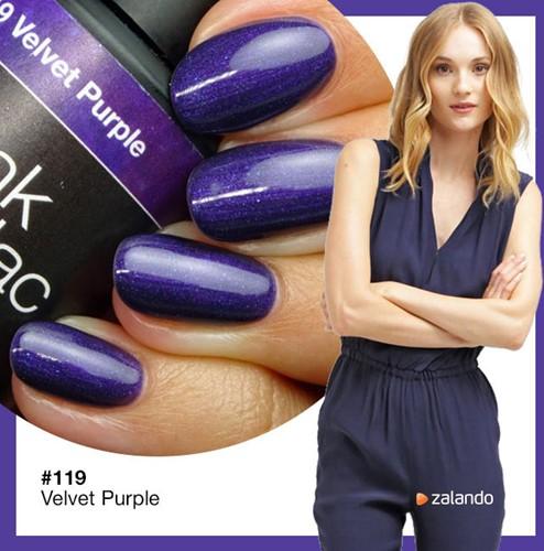 Velvet Purple Pink Gellac 119