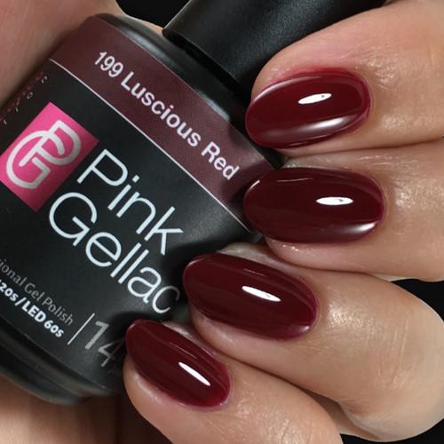 Pink Gellac #199 Luscious Red