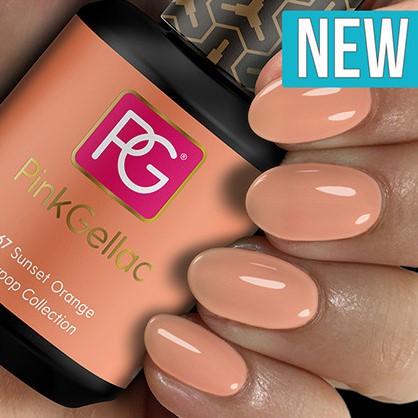 Pink Gellac #267 Sunset Orange-3