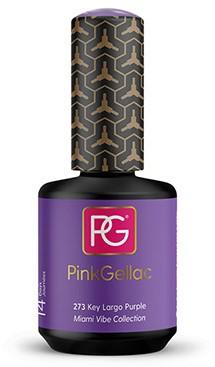 Pink Gellac #273 Key Largo Purple