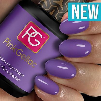 Pink Gellac #273 Key Largo Purple-3