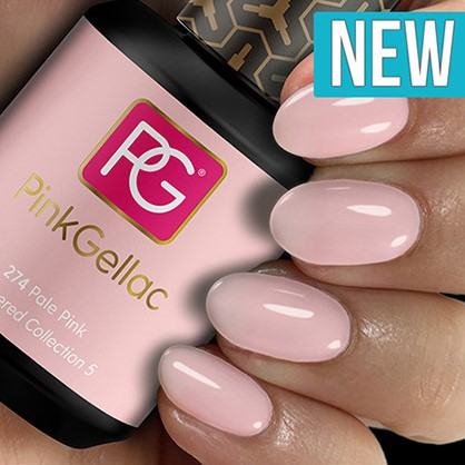 Pink Gellac #274 Pale Pink