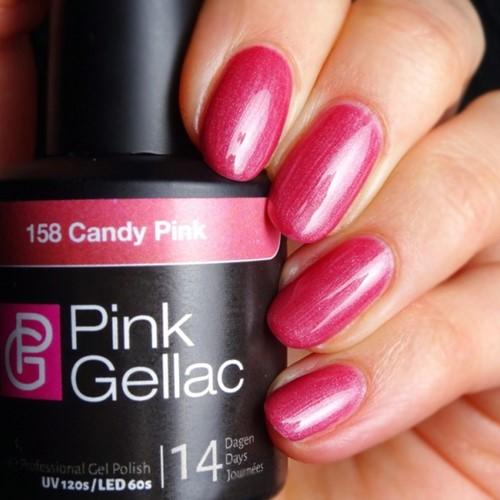 Pink Gellac #158 Candy Pink