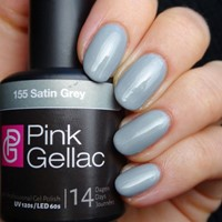 Pink Gellac #155 Satin Grey