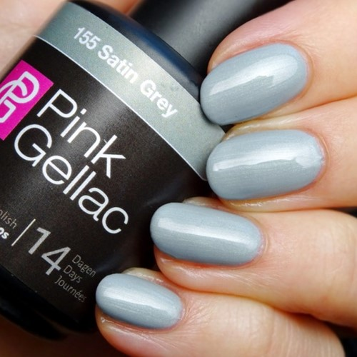Pink Gellac Satin Grey 155