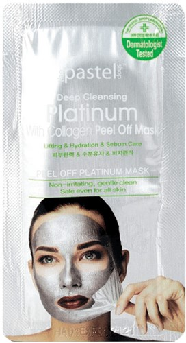 Deep Cleansing Platinum With Collagen Peel Off