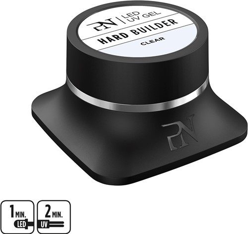ProNails Clear Hard Builder LED/UV Gel 50 ml