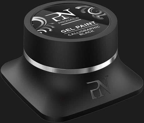ProNails Gel Paint Calligraphic Black 5 ml
