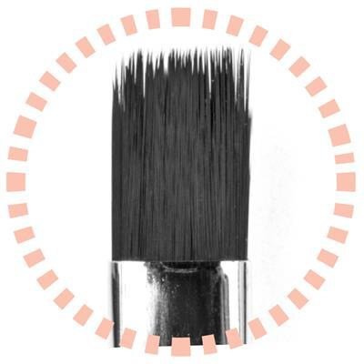 Afbeelding van Pro Nails Punky Brush N°10