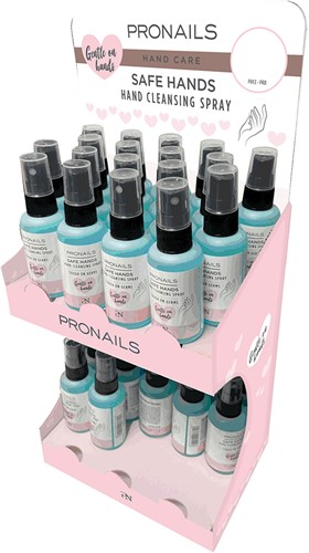 ProNails Cleansing Handspray display 40 stuks