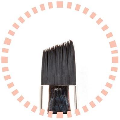 Pro Nails Cut off Stroke Brush N°13