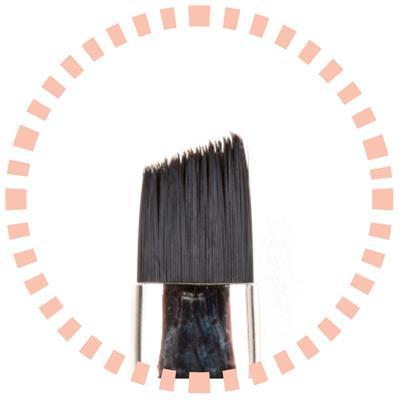 Afbeelding van Pro Nails Cut off Stroke Brush N°13