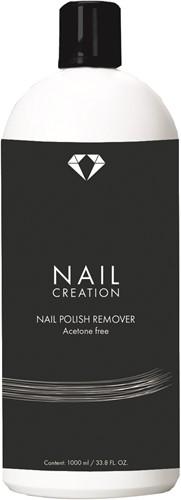 Nail Creation Nail Polish Remover Aceton Free 1000 ml