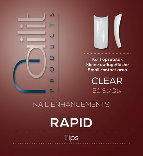 Refill Rapid Clear 50st - #10