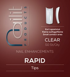 Nailit Refill Rapid Clear  50 st