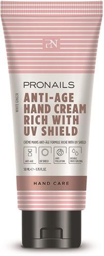 ProNails Anti-Age Hand Cream Rich with UV Shield 50 ml