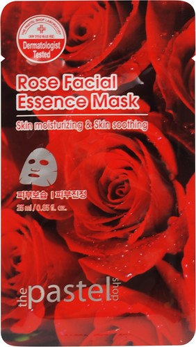 Rose Facial Essence Sheet Mask