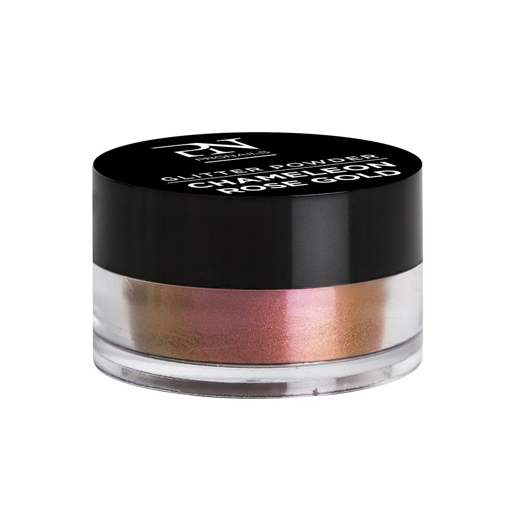 Afbeelding van ProNails Glitter Powder Chameleon Rose Gold 2 g