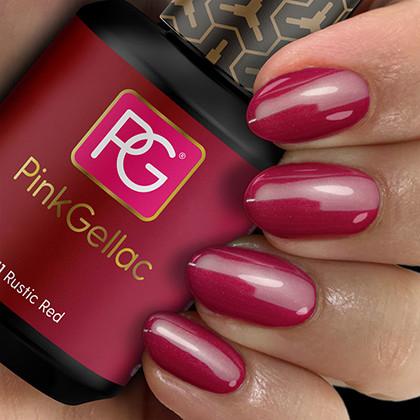 Afbeelding van Pink Gellac #111 Rustic Red