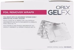 ORLY Foil Remover Wraps 100 pack