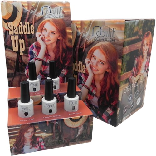 NailIt Gelpolish - Saddle Up Display