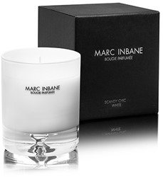 Marc Inbane kaars - Bougie Parfumée Scandy Chic White