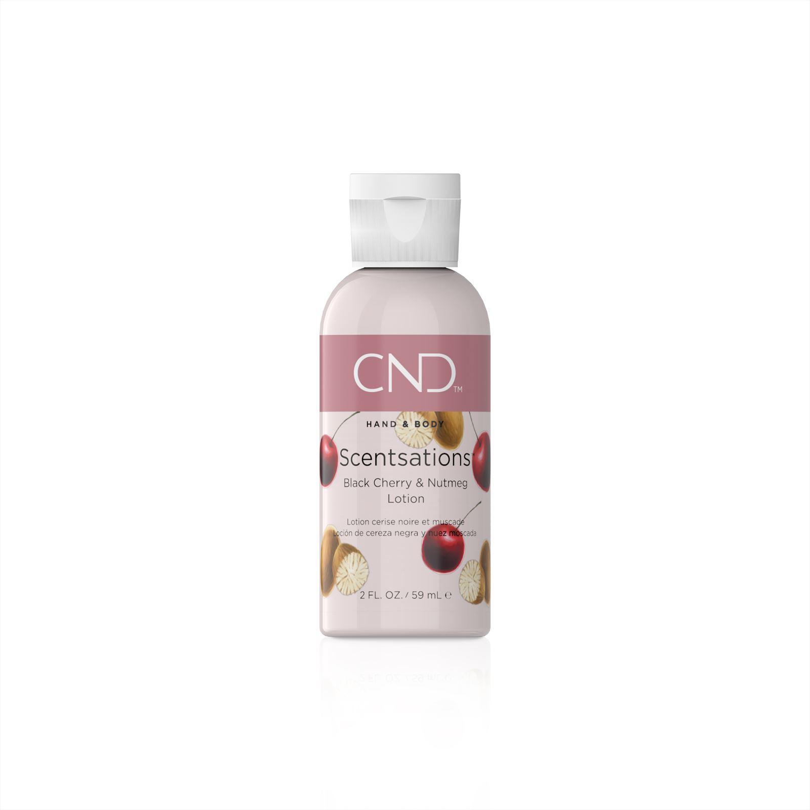 Afbeelding van CND ™ Scentsations Lotion - Black Cherry & Nutmeg 59 ml
