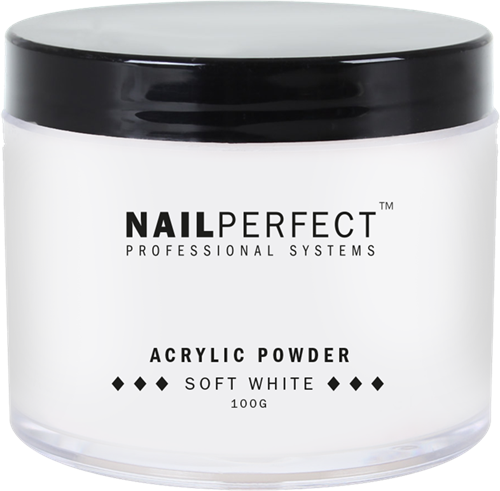 Nail Perfect Acryl Poeder - Soft White 100 gr