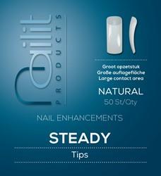 Nailit Refill Tipbox Steady Natural 50 st