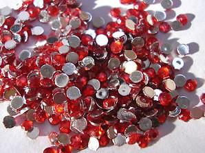Strass steentjes - Rood