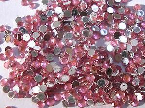 Strass steentjes - Roze