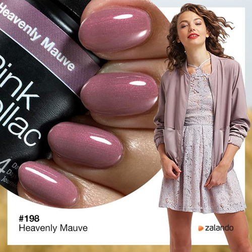 Pink Gellac #198 Heavenly Mauve