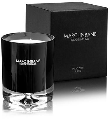 Marc Inbane kaars - Bougie Parfumée Tabac Cuir Black