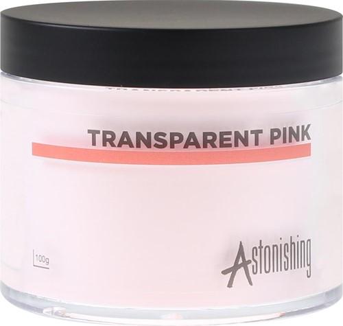 AST - Acryl Powder Tr. Pink 100gr