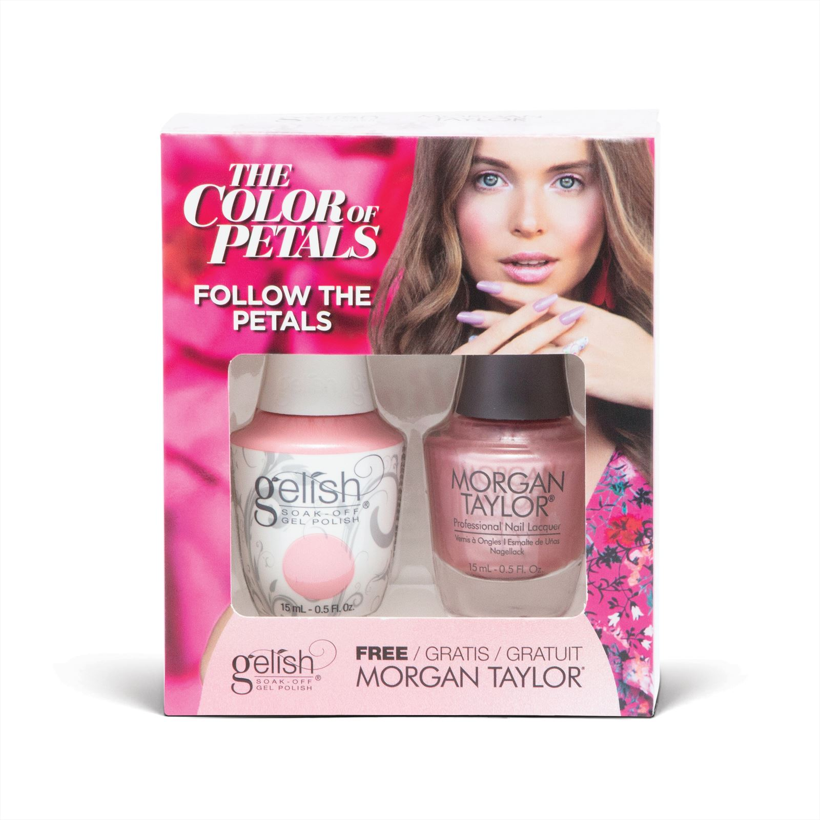 Afbeelding van Gelish - Follow The Petals + Gratis Nagellak
