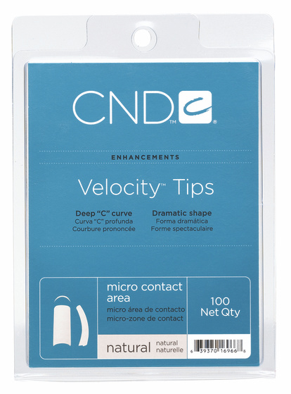 Afbeelding van CND ™ Velocity Tips - Natural 100 st.