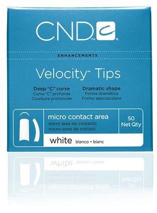 CND™ Velocity Tips - White 1