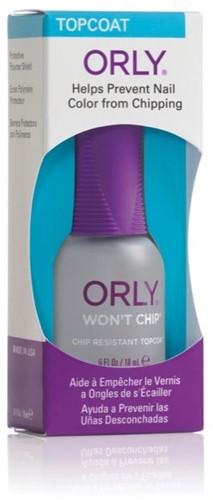 ORLY Won't Chip - Topcoat 18 ml